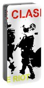 Clash White Riot  Portable Battery Charger