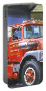 Classic Brockway Dump Truck Portable Battery Charger