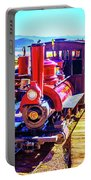 Classic Calico Train Portable Battery Charger