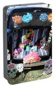 Classic Car Day Of Dead Decor Trunk Portable Battery Charger