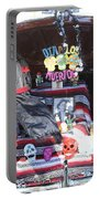 Classic Car Decor Day Of The Dead  Portable Battery Charger