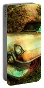 Classic Country Cadillac Painting  Portable Battery Charger