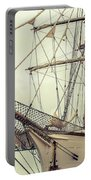 Classic Sail Ship Portable Battery Charger