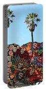 Classic Umbrellas Day Of The Dead  Portable Battery Charger