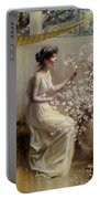 Classical Maiden Portable Battery Charger