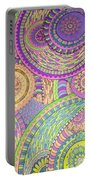Classy Paisley Portable Battery Charger