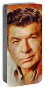 Claude Akins, Vintage Hollywood Actor Portable Battery Charger