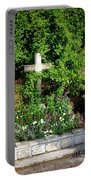 Claude Monet Grave In Giverny Portable Battery Charger