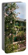 Claude Monets House  - Giverney - France Portable Battery Charger
