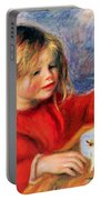 Claude Renoir At Play Sun 1905 Portable Battery Charger