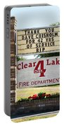 Clear Lake Fire Department Portable Battery Charger