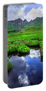 Clear Lake Reflections Portable Battery Charger
