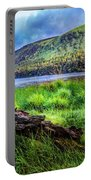 Clear Waters Of Glendalough Portable Battery Charger
