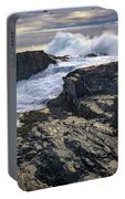 Clearing Storm At Bald Head Cliff Portable Battery Charger