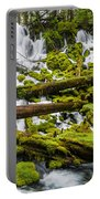 Clearwater Falls And Rapids Portable Battery Charger