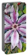 Clematis Camille Portable Battery Charger