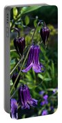 Clematis Flower Blossoms Portable Battery Charger