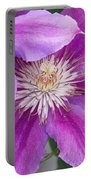 Clematis Flowers Portable Battery Charger