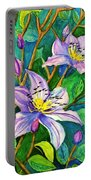 Clematis For Elsie Portable Battery Charger