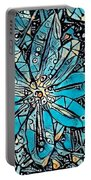 Clematis In Blue Fantasia Portable Battery Charger