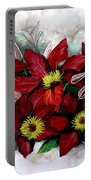 Clematis Niobe Portable Battery Charger