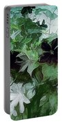 Clematis On The Vine Portable Battery Charger