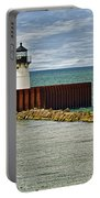 Cleveland Harbor Small Lighthouse Portable Battery Charger