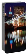Cleveland Ohio Skyline Portable Battery Charger