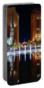 Cleveland Public Square Fountains Portable Battery Charger
