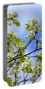 Flowering Pear Portable Battery Charger