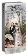 Clevelands Wedding, 1886 Portable Battery Charger