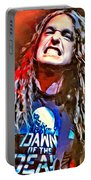 Cliff Burton Portrait Portable Battery Charger