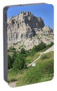 Cliff Shelf Trail In Badlands National Park South Dakota Portable Battery Charger