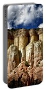 Cliffs At Echo Amphitheater Portable Battery Charger