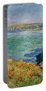 Cliffs Near Pourville Portable Battery Charger