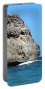 Cliffs On The Beach Dominican Republic  Portable Battery Charger