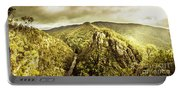 Cliffs, Steams And Valleys Portable Battery Charger