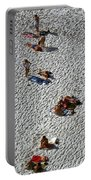 Clifton Beach, Cape Town Portable Battery Charger by Travel Pics