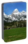 Climbers Ranch In Spring Portable Battery Charger
