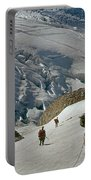 T-204805-climbing Party Mt. Rainier  Portable Battery Charger