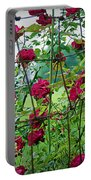 Climbing Roses Portable Battery Charger