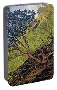 Climbing Tree Roots Portable Battery Charger