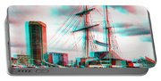 Clipper City - Use Red-cyan 3d Glasses Portable Battery Charger