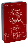 Clock For Keeping Animal Time Patent Drawing 1b Portable Battery Charger