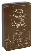 Clock For Keeping Animal Time Patent Drawing 1c Portable Battery Charger
