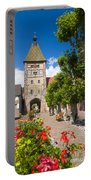 Half-timbered Houses, Alsace, France  Portable Battery Charger