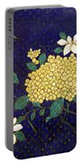 Cloisonee' Flower Portable Battery Charger