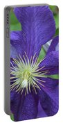 Close Clematis Portable Battery Charger