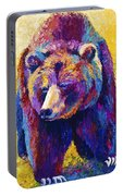 Close Encounter - Grizzly Bear Portable Battery Charger