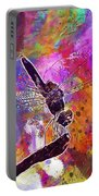 Close Up Dragonfly Insect Macro  Portable Battery Charger